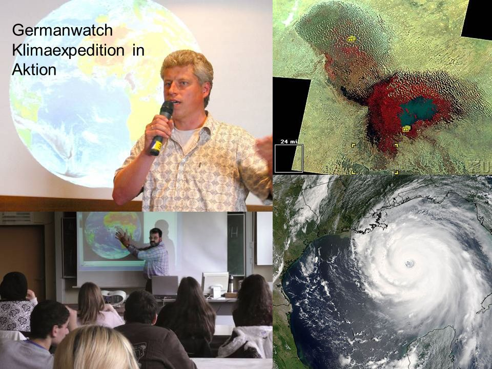 8 Germanwatch Klimaexpedition in Aktion