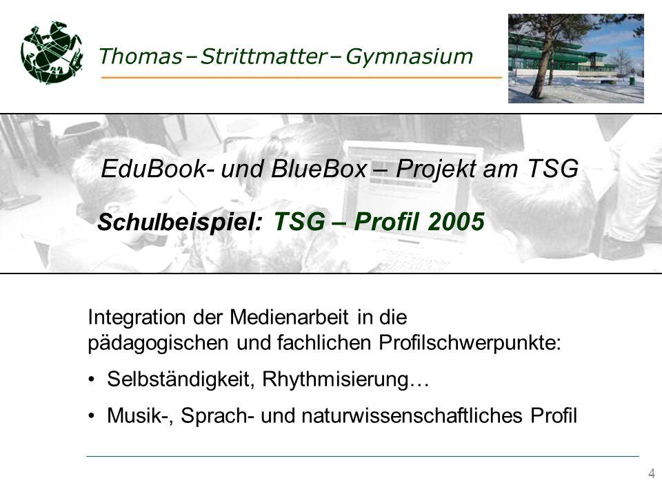 4 Thomas – Strittmatter – Gymnasium & Medien im fächerübergreifenden pädagogischen Profil? Integration der Medienarbeit in die pädagogischen und fachl