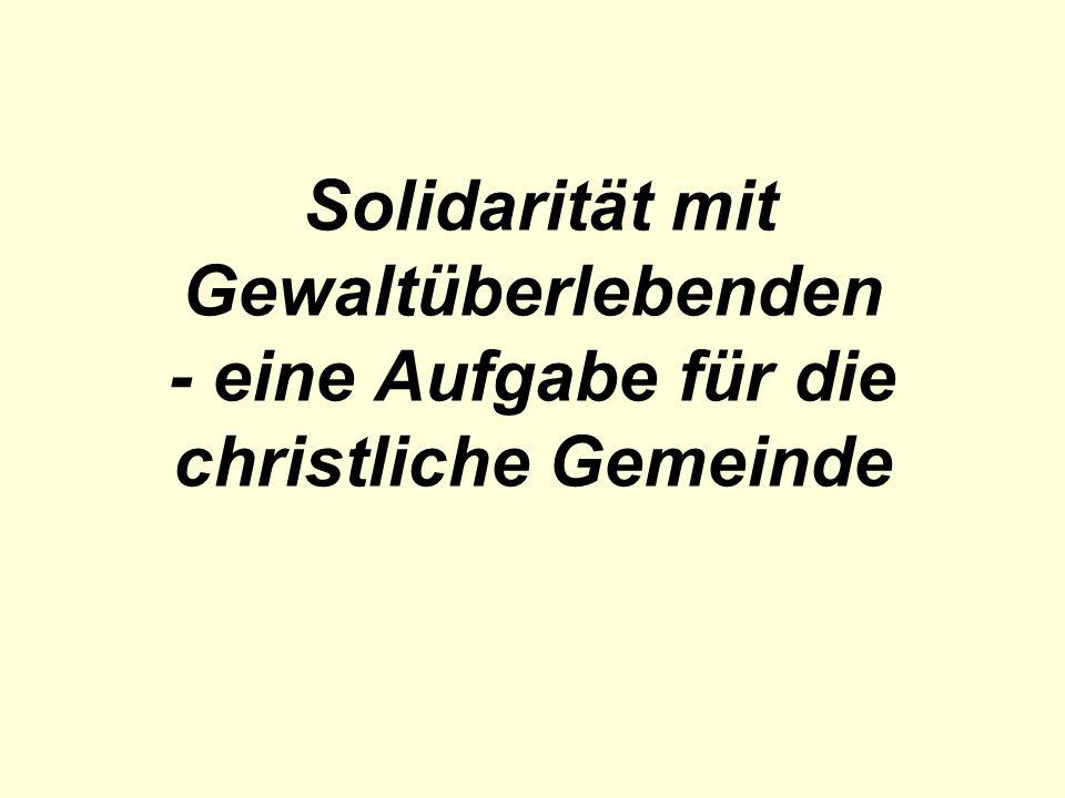 Solidarität – was ist wichtig.