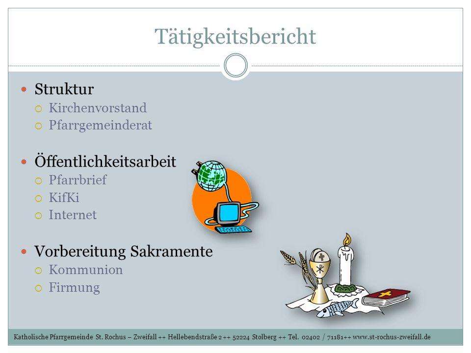 Aktuelles Sonntagsgottesdienst ab Herbst 2011 (nach Weggang von Father Christian) Katholische Pfarrgemeinde St.