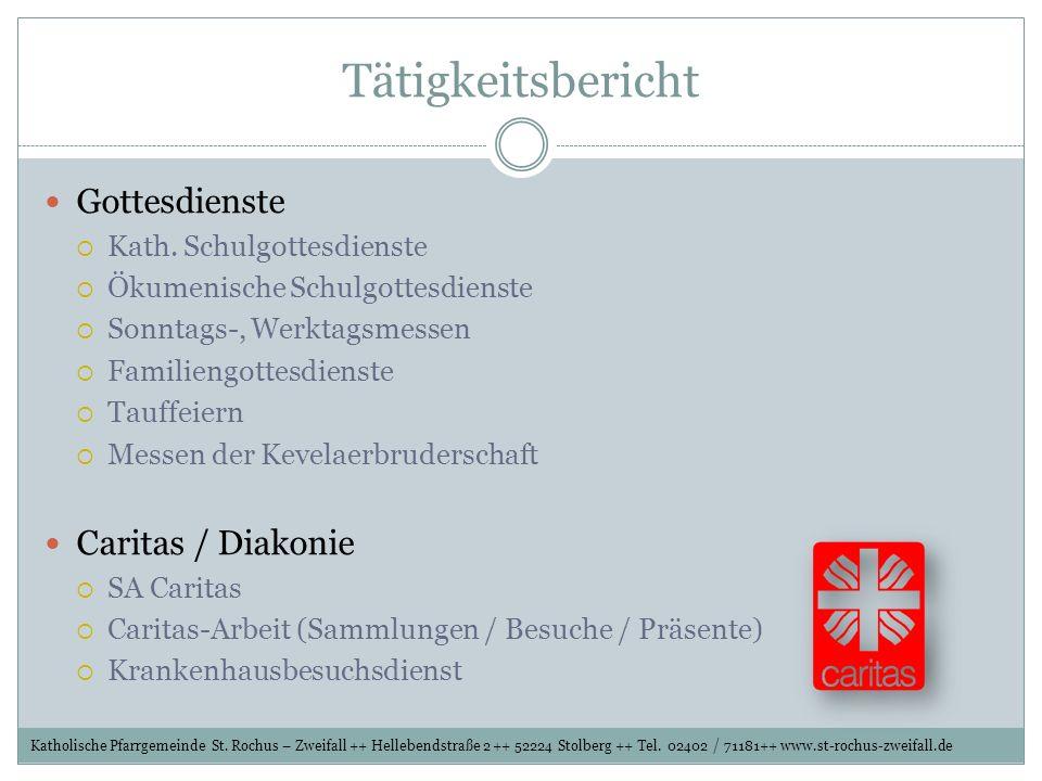 Gemeinschaft der Gemeinden (GdG) IN STOLBERG-SÜD DER VERTRAG ZUR BILDUNG DIESER GDG WURDE IM DEZEMBER 2008 VON DEN BETROFFENEN GEMEINDEN UNTERZEICHNET MAUSBACH GRESSENICH SCHEVENHÜTTE WERTH VICHT ZWEIFALL BREINIG DORFF BÜSBACH Katholische Pfarrgemeinde St.