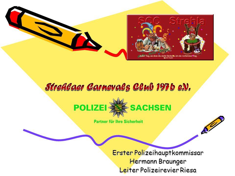 Erster Polizeihauptkommissar Hermann Braunger Leiter Polizeirevier Riesa
