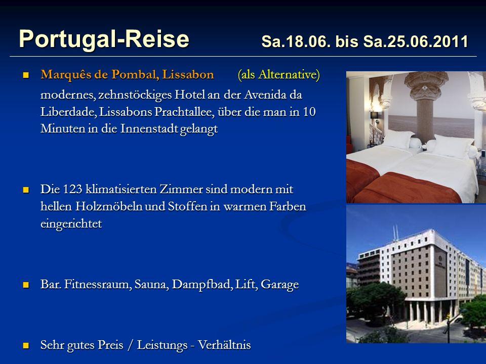 Portugal-Reise Sa.18.06.