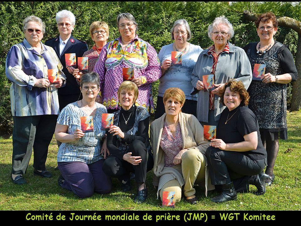 Comité de Journée mondiale de prière (JMP) = WGT Komitee