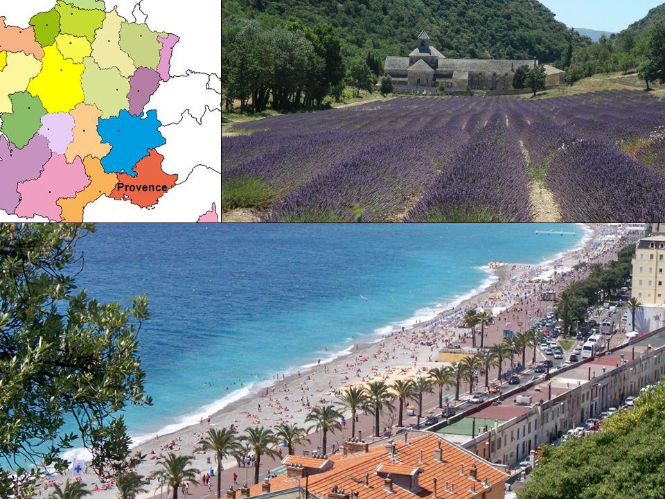 Die Provence liegt in der Region Provence-Alpes-Côte dAzur