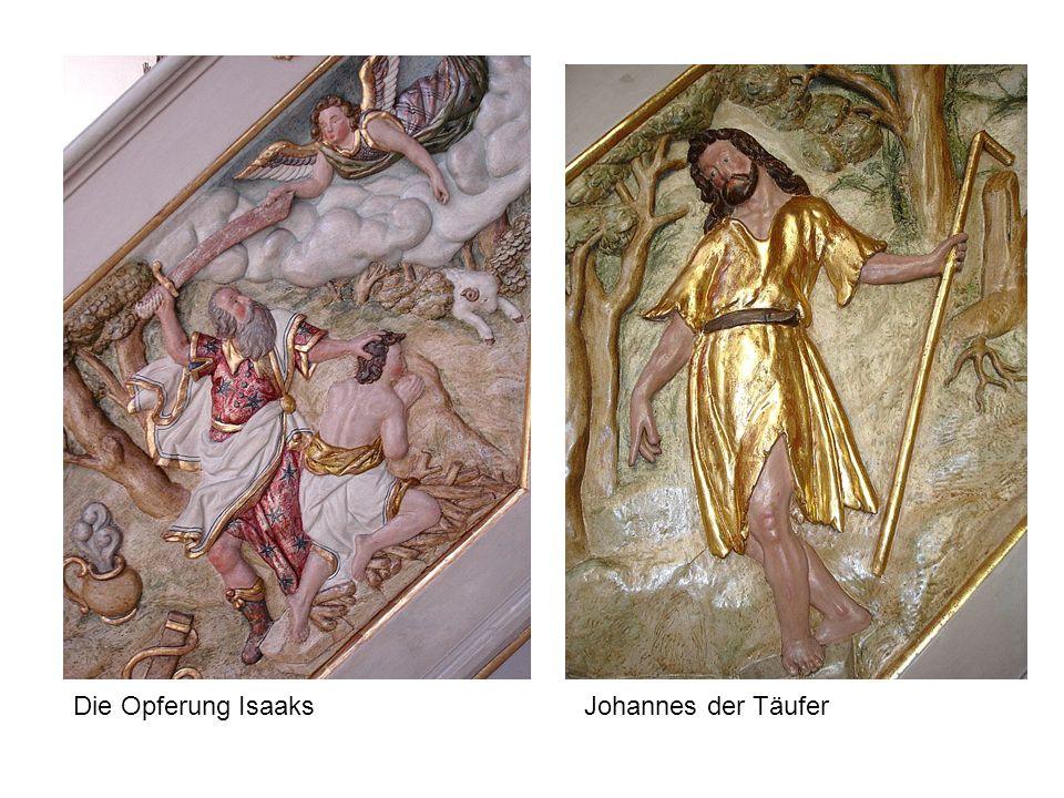 Johannes der TäuferDie Opferung Isaaks