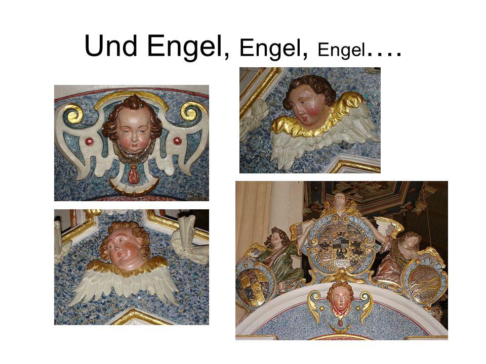 Und Engel, Engel, Engel ….