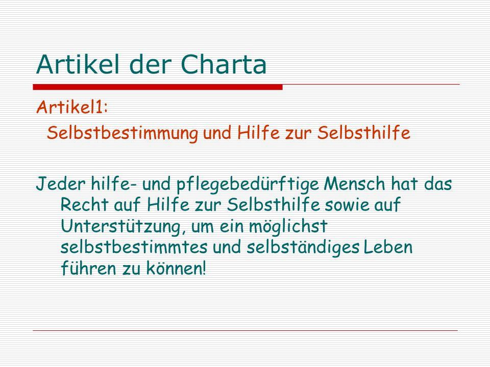 Artikel der Charta Artikel 2: Körperliche und Seelische Unversehrtheit, Freiheit und Sicherheit.