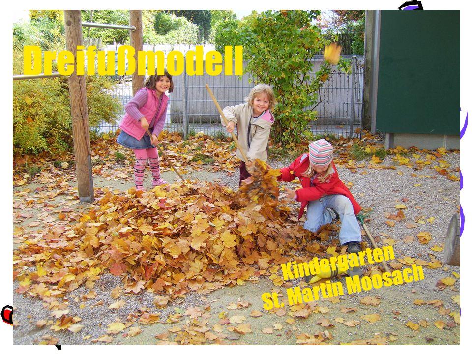 Dreifußmodell Kindergarten St. Martin Moosach