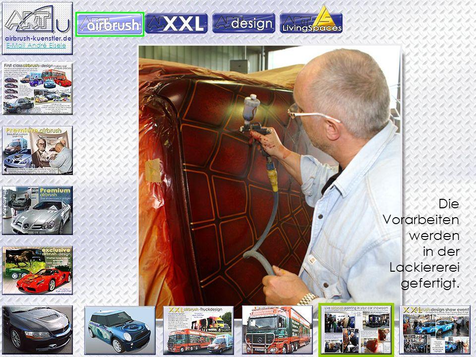 Terminal of information Ein ungewöchnliches Highlight, Künstler André Eisele malt auf Ihrer Firmenfest. Live Airbrush - Malerei in Ihrem Ausstellungsr