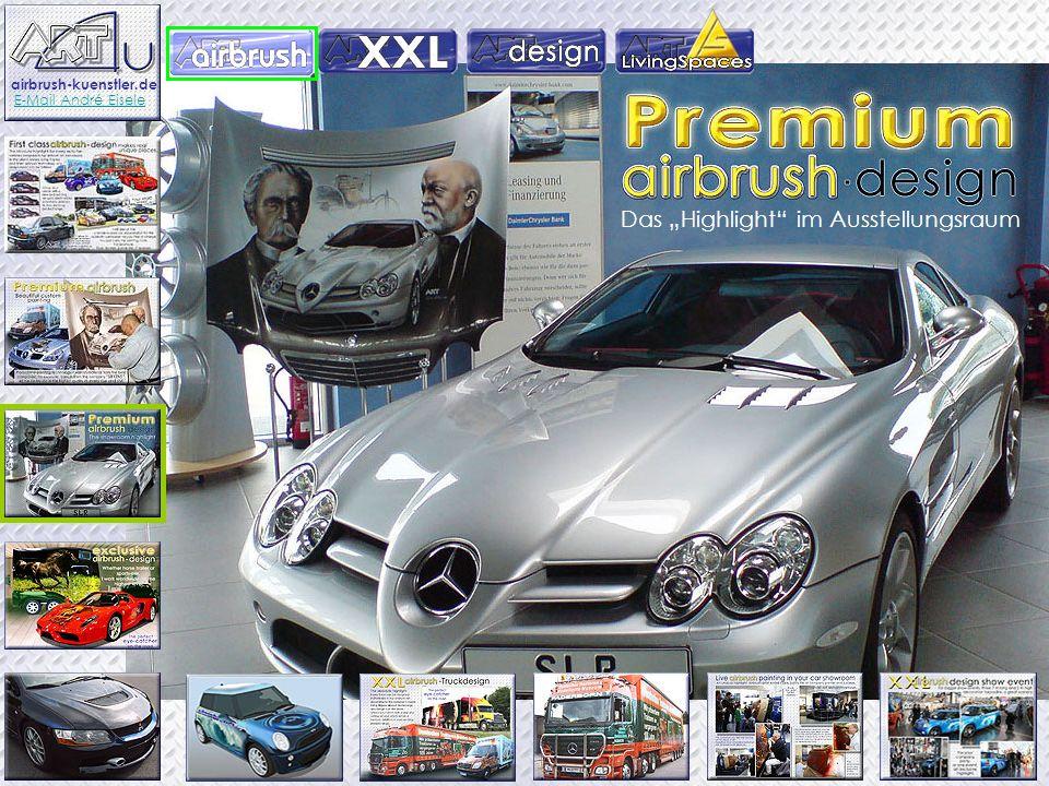 Das Highlight im Ausstellungsraum airbrush-kuenstler.de E-Mail André Eisele