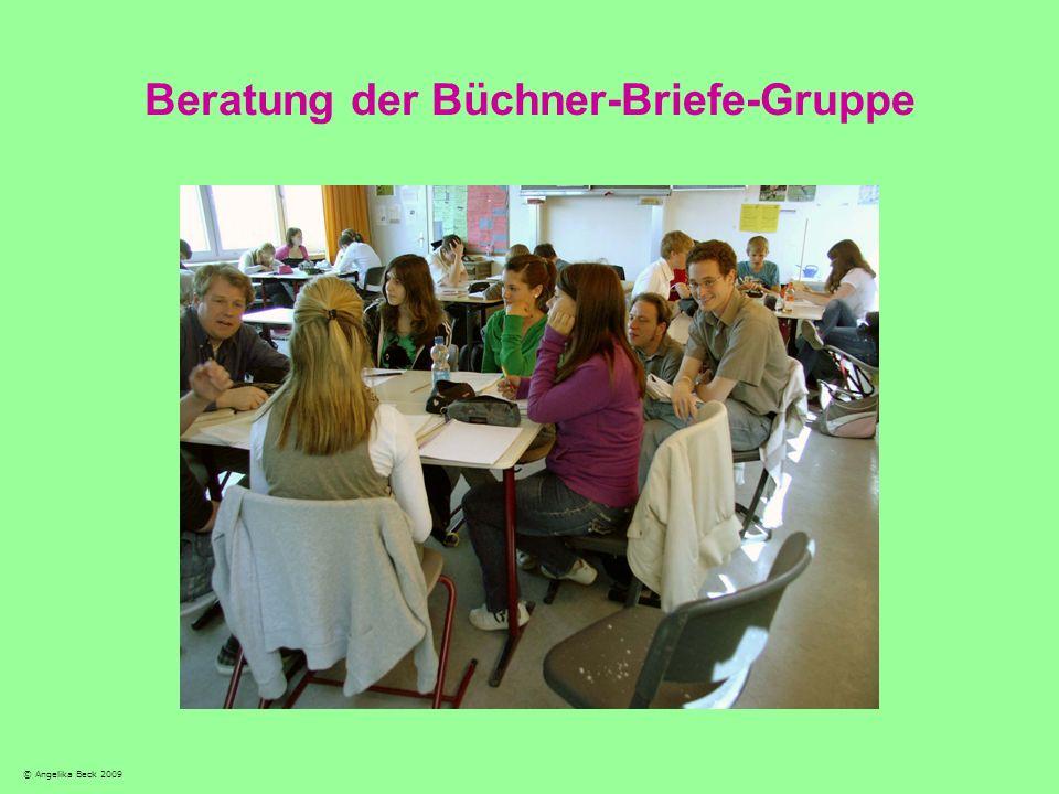 Beratung der Büchner-Briefe-Gruppe © Angelika Beck 2009