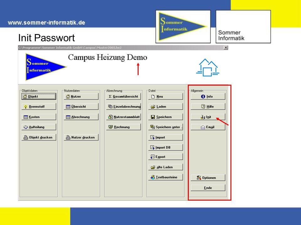 Init Passwort