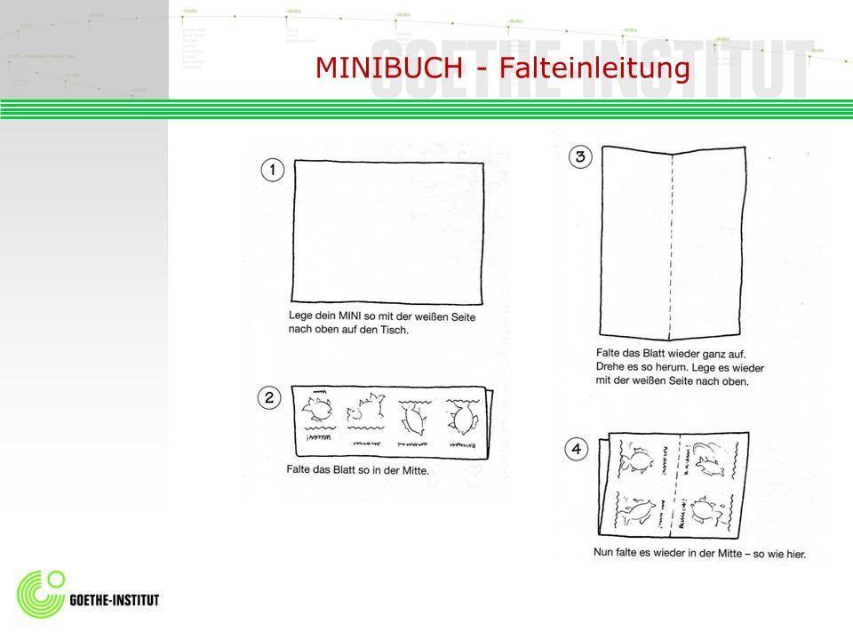 MINIBUCH - Falteinleitung