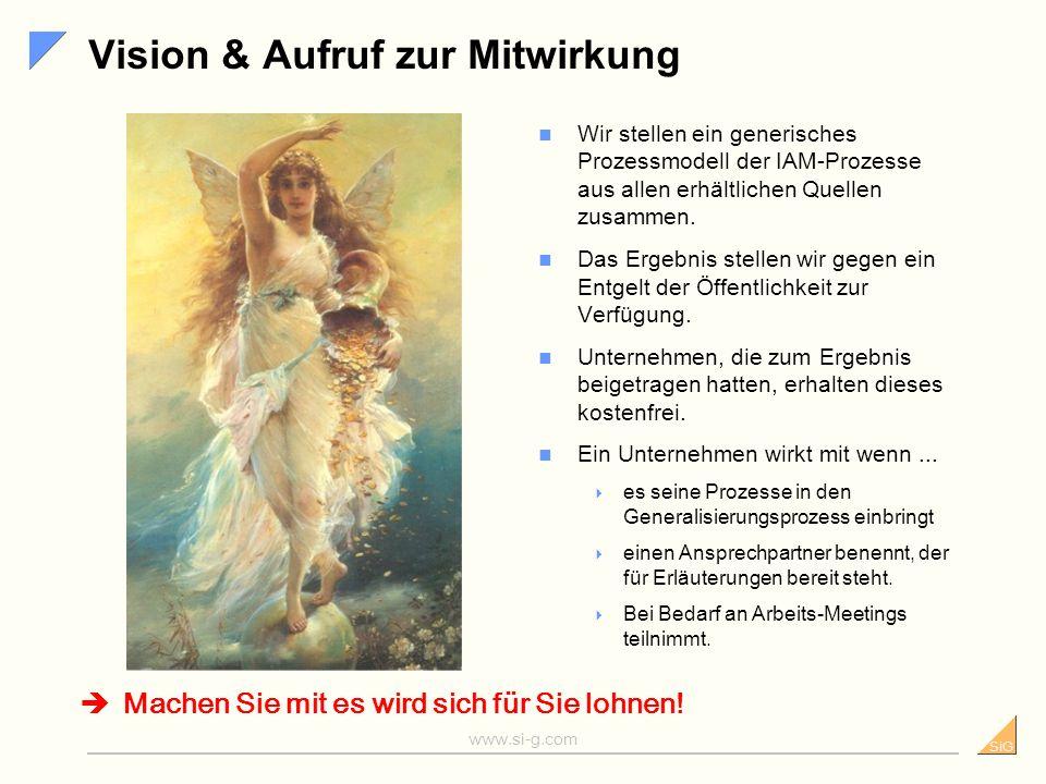 SiG www.si-g.com Ausblick