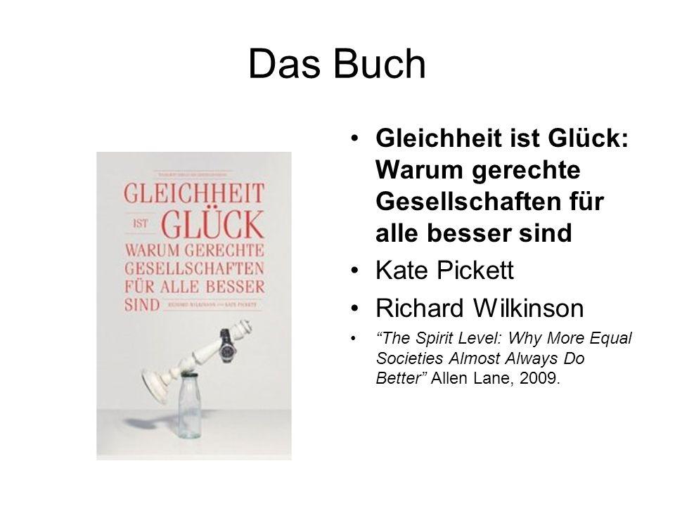 Das Buch Gleichheit ist Glück: Warum gerechte Gesellschaften für alle besser sind Kate Pickett Richard Wilkinson The Spirit Level: Why More Equal Soci