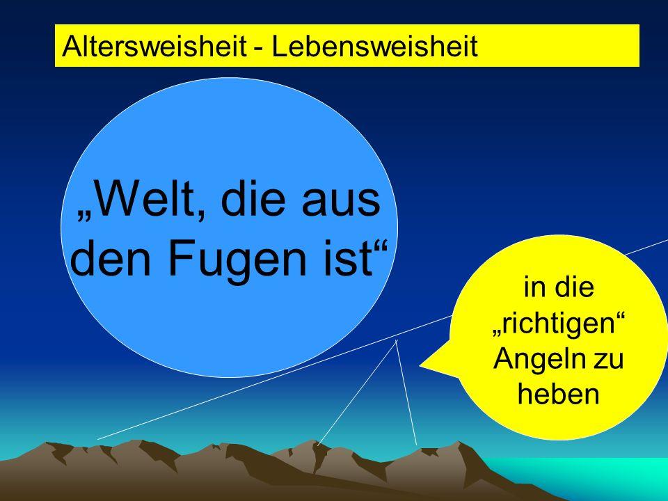 Welt, die aus den Fugen ist Belegen Sie die Aussage von Erich Kästner mit aktuellen Beispielen! Beispiele: