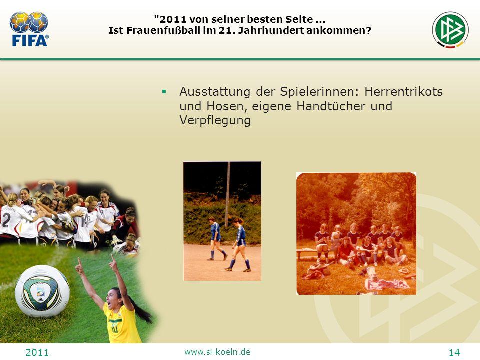 2011 www.si-koeln.de 14