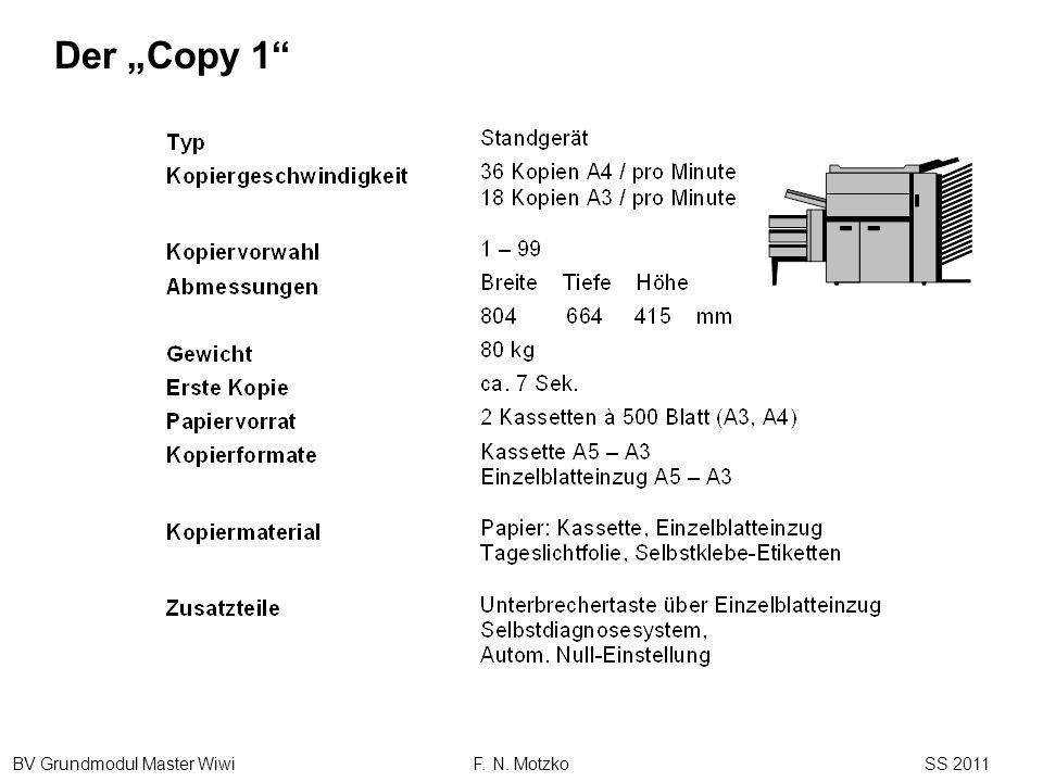 BV Grundmodul Master Wiwi F. N. Motzko SS 2011 Der Copy 1
