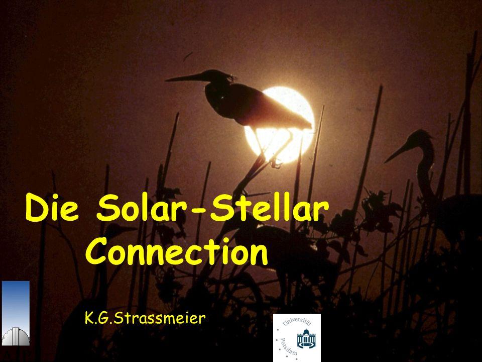 Solar-terrestrische Beziehungen Sonnenaktivität im 11-jährigen Zyklus Magnetischer Zyklus aber 22 Jahre Zykluslänge aus 14 C-Isotop: 14 N(n,p) 14 C