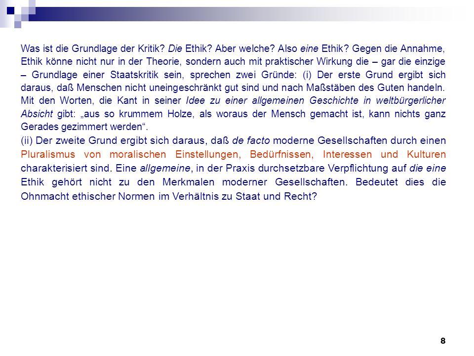 39 Der Rechtsstaat (Aus: GG-Kommentar H.Dreier zu Art.