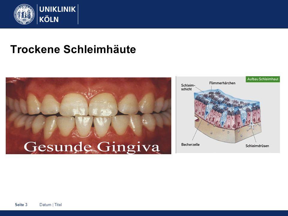 Datum | TitelSeite 14 Mundgeruch Diagnostik, u.a.