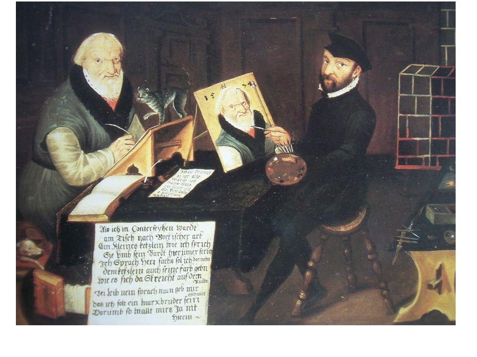 Eulenspiegel, Straßburg 1515, 1. Histori. Montage aus zwei Holzstöcken.