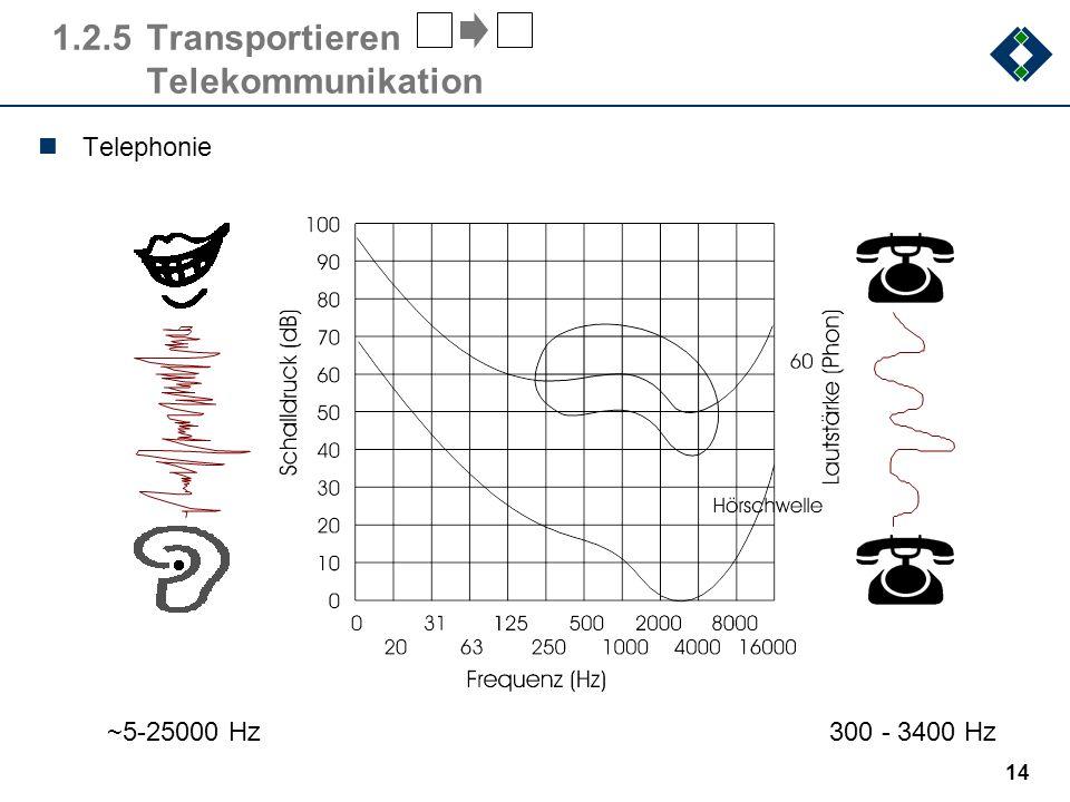 13 1.2.4Erfassen Sensorik Bildverarbeitung 300000 Datenmenge (Byte) 60000 (52,204,248)(33,75,125,190,251) 3000 100