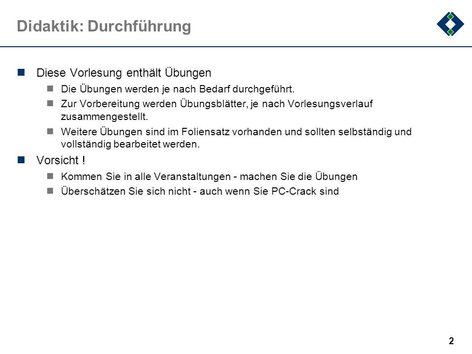 1 Grundlagen der Informatik Sommersemester 2007 Prof. Dr. Peter Kneisel