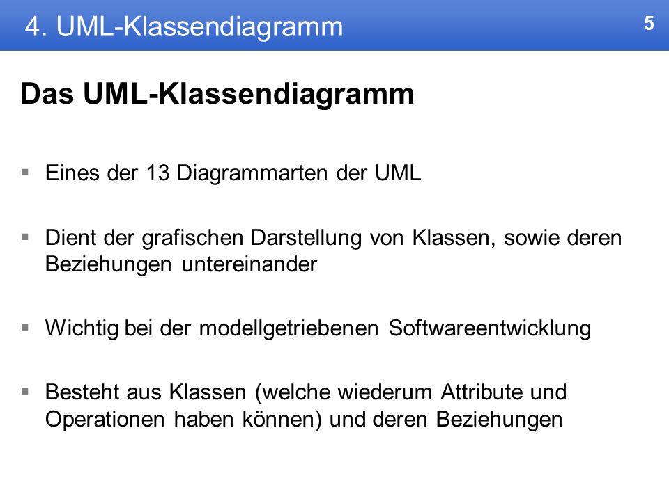 45 7.Resümee UML gut und übersichtlich für Experten Eher in der späteren Projektphase Evtl.