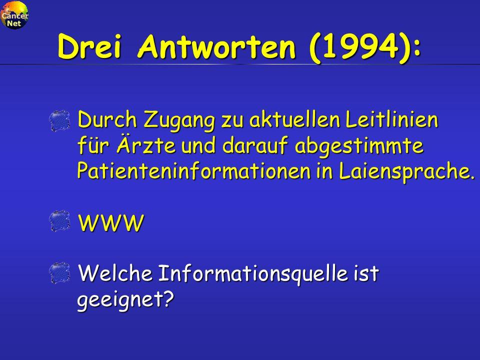 Vermittler, 1997 n=794 Suchmaschine..................