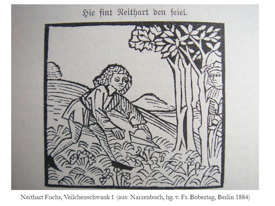 Neithart Fuchs, Veilchenschwank 2 (aus: Narrenbuch, hg. v. Fr. Bobertag, Berlin 1884)