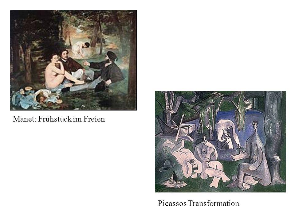 Manet: Frühstück im Freien Picassos Transformation