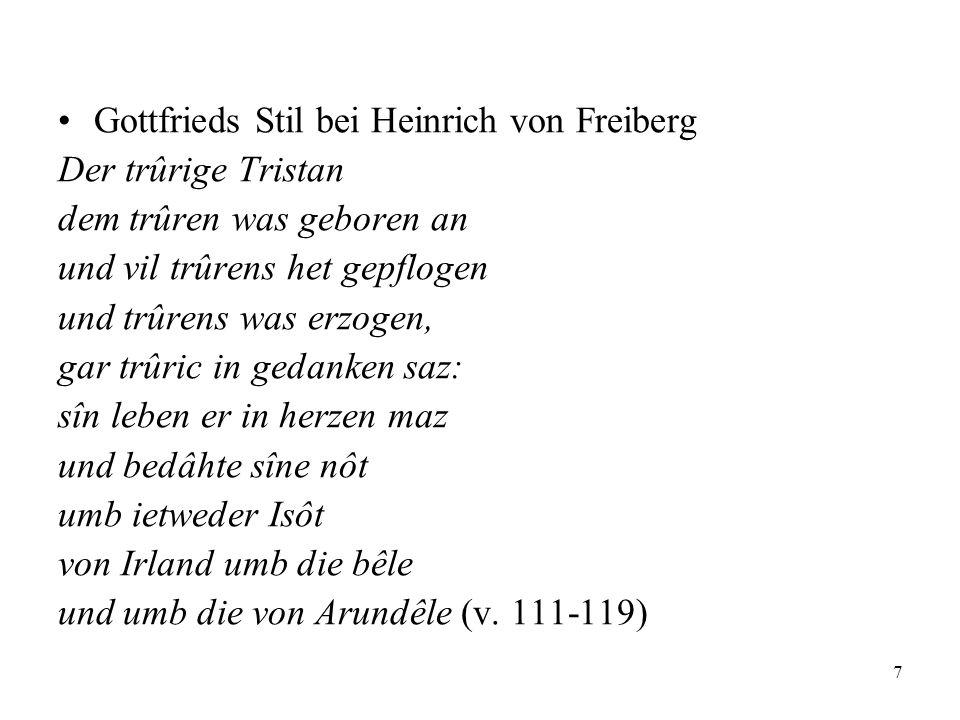 18 Ein niederfränkischer Tristan-Roman.(s. VL 6, 884f.: Niederfrk.