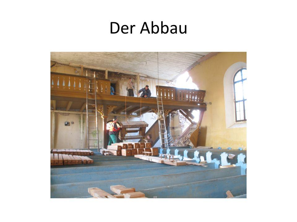 In der Werkstatt: Arbeiten an der Hadader Orgel