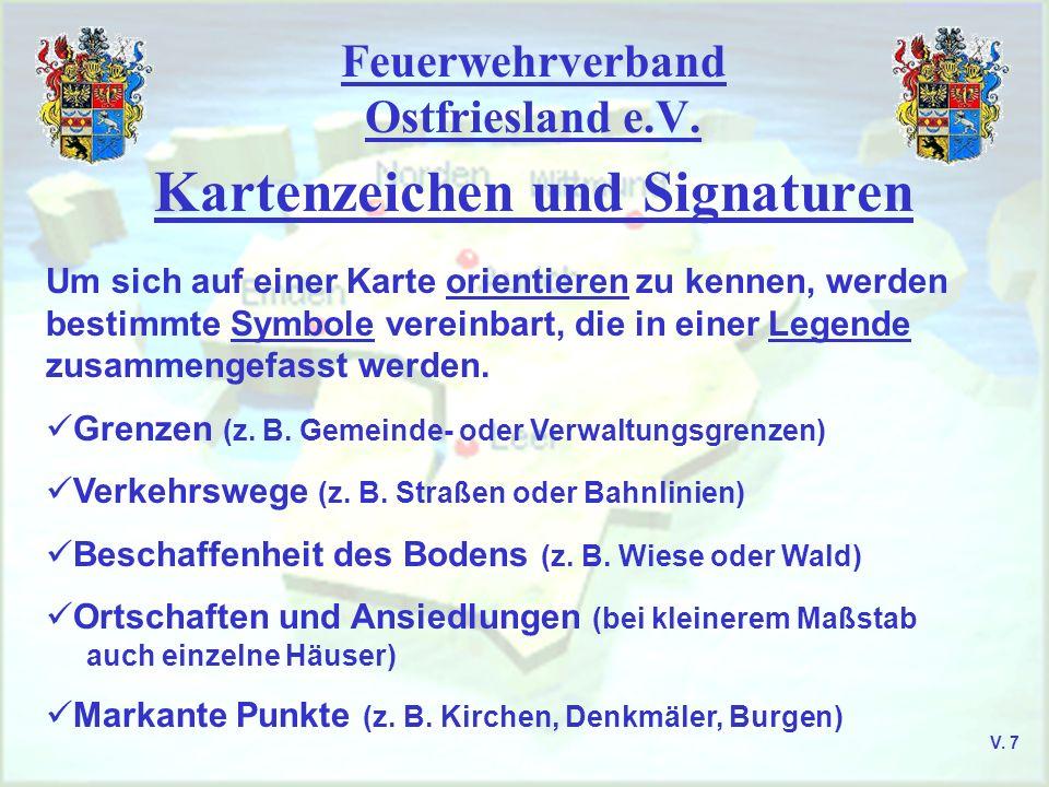 Feuerwehrverband Ostfriesland e.V.Kartenzeichen und Signaturen Gewässer (z.
