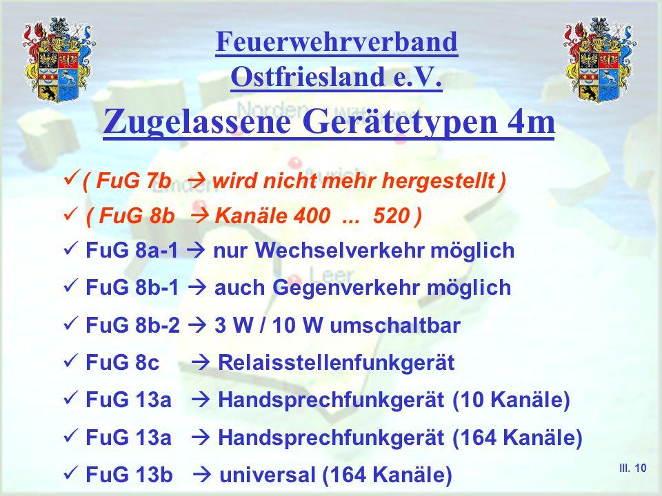 Feuerwehrverband Ostfriesland e.V. Vielkanalgeräte - der innere Aufbau von Vielkanal-FuG ist wesentlich komplizierter aufgebaut als bei Wenigkanal-FuG