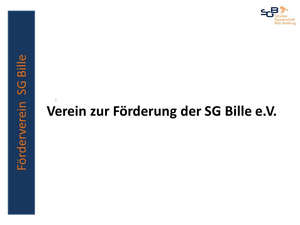 Verein zur Förderung der SG Bille e.V. Förderverein SG Bille