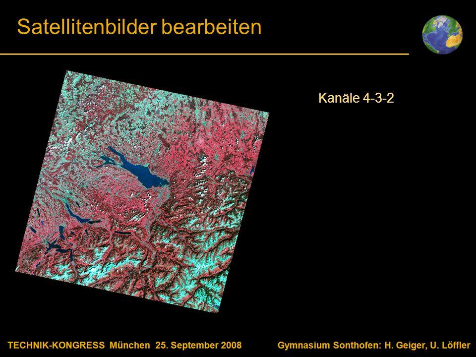 Body text Satellitenbilder bearbeiten Kanäle 4-3-2