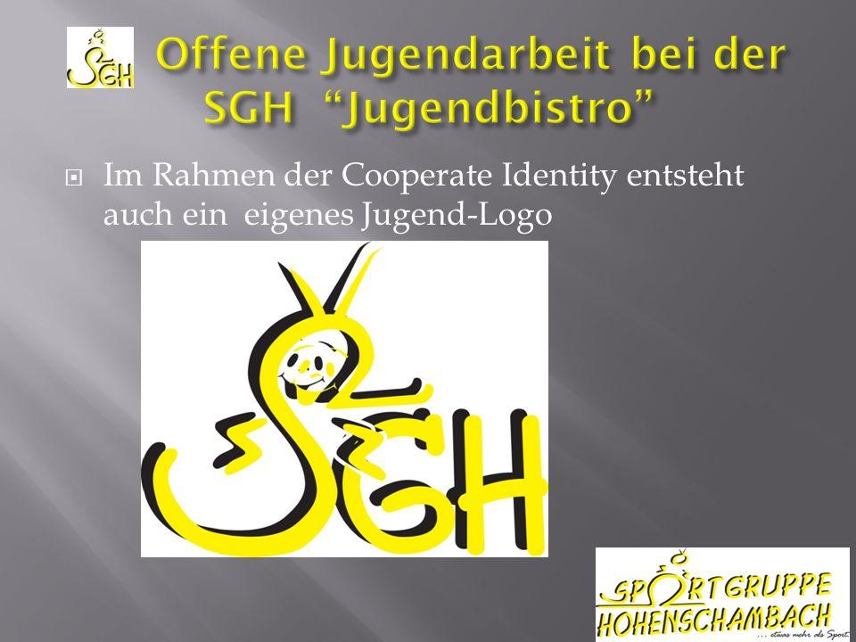 Im Rahmen der Cooperate Identity entsteht auch ein eigenes Jugend-Logo