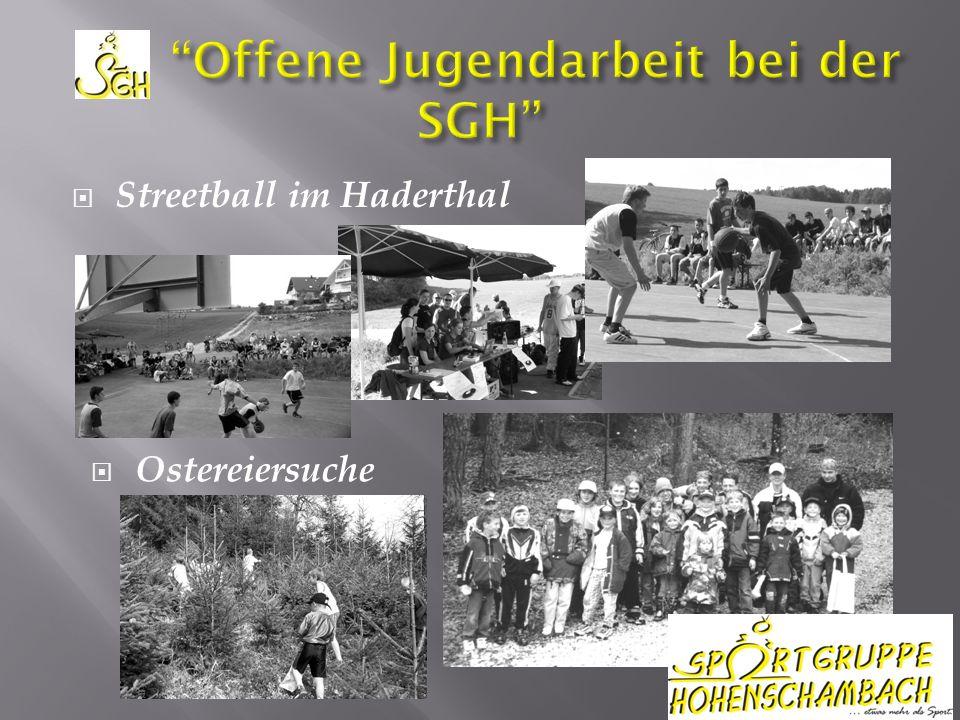 Streetball im Haderthal Ostereiersuche