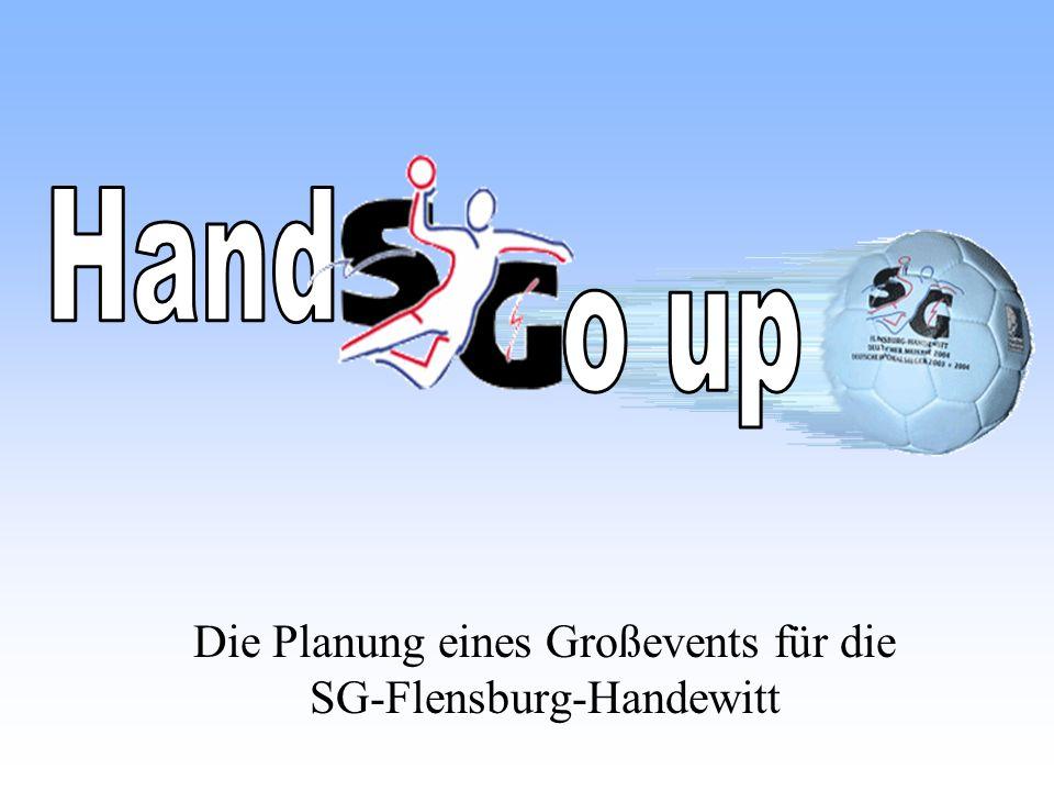 Die Planung eines Großevents für die SG-Flensburg-Handewitt