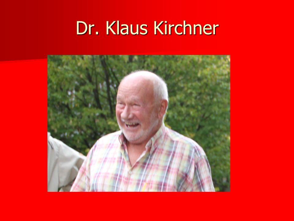 Dr. Klaus Kirchner