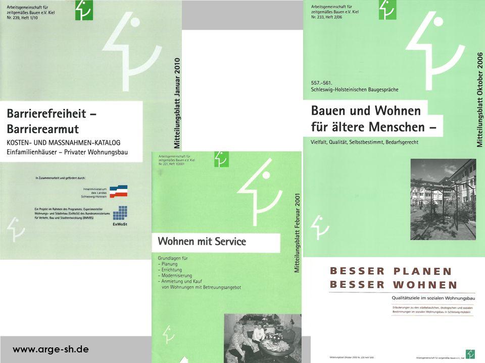 Arbeitsgemeinschaft für zeitgemäßes Bauen e. V. www.arge-sh.de