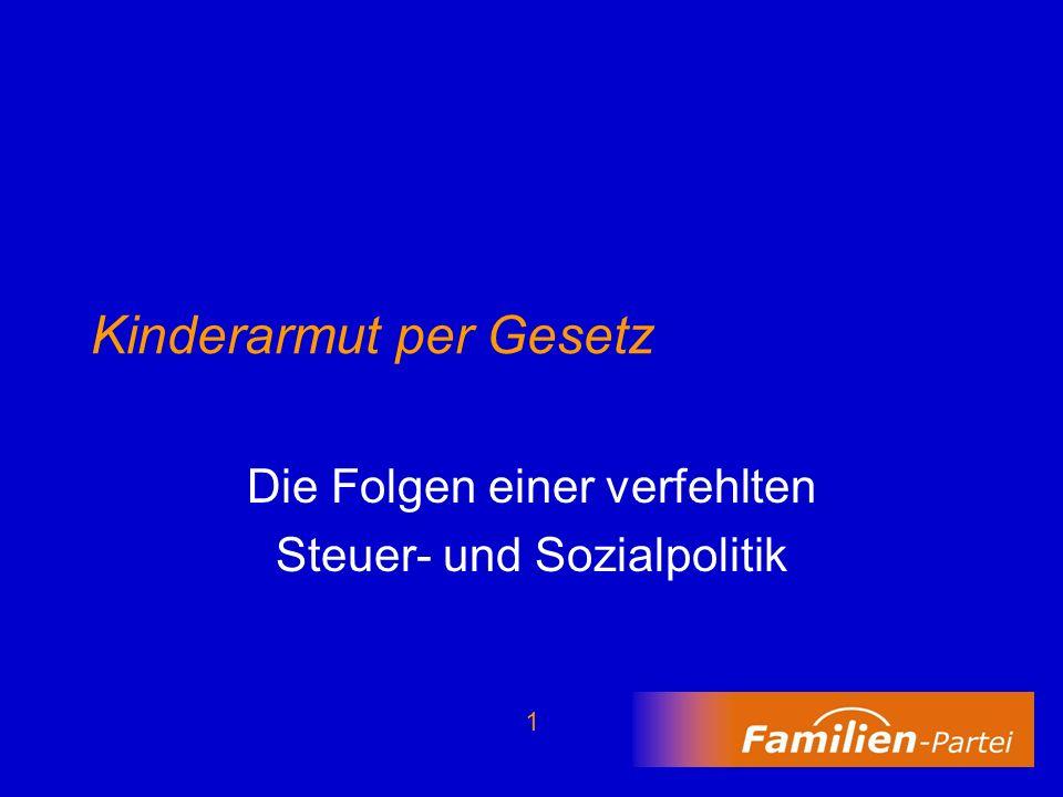 12 Beispiel: Paar mit zwei Kindern 7380 EUR Mehrausgaben für zwei Kinder Verbleibendes Nettoeinkommen der Eltern 29.390 EUR 0 20 40 60 T 0% 50%100%