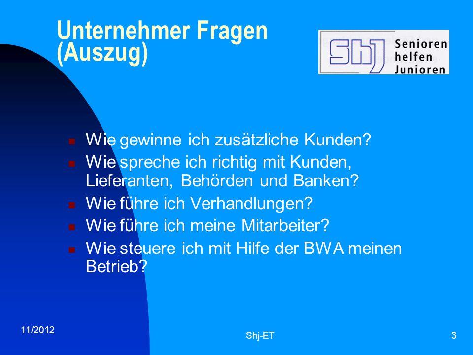 11/2012 Shj-ET4 Wie helfen wir.