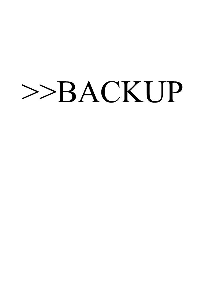 >>BACKUP