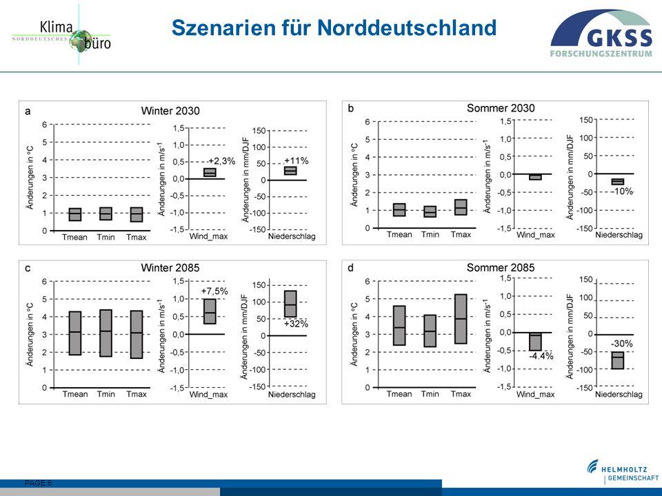 PAGE 6 Szenarien für Norddeutschland