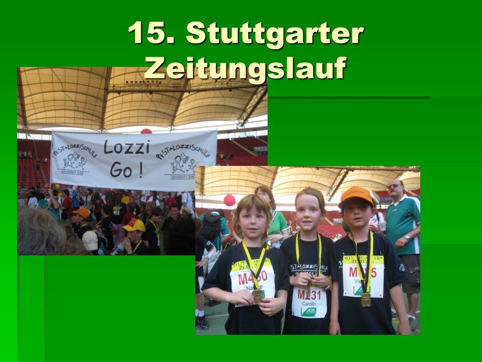 15. Stuttgarter Zeitungslauf