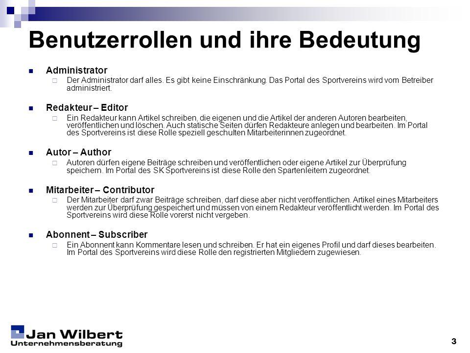 Anmelden (1/2) 4 URL: http://www.sk-sportverein.de/admin